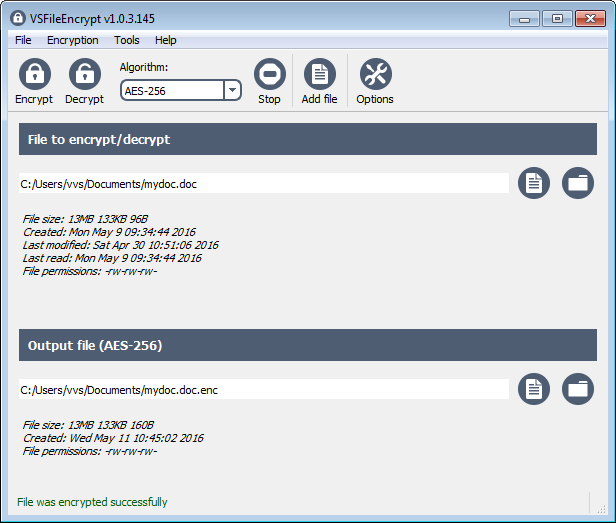 VSFileEncrypt 1.2.3.149 full